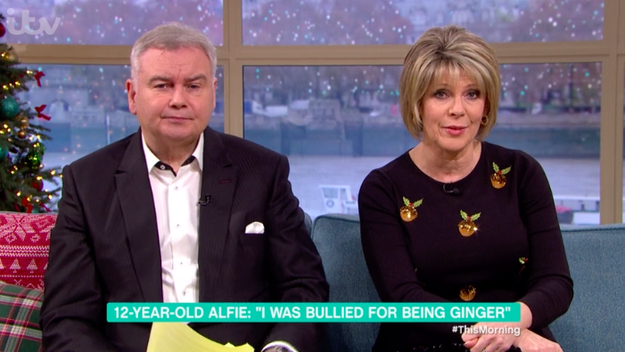 Viewers heartbroken over This Morning segment with bullied little boy