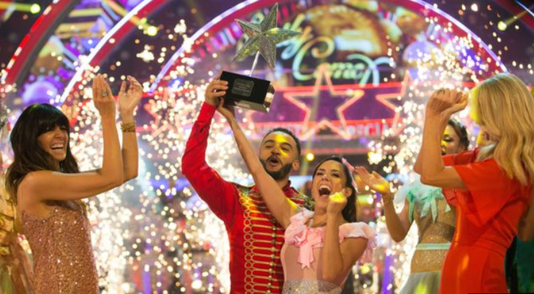 Aston Merrygold wins Strictly Come Dancing Christmas special