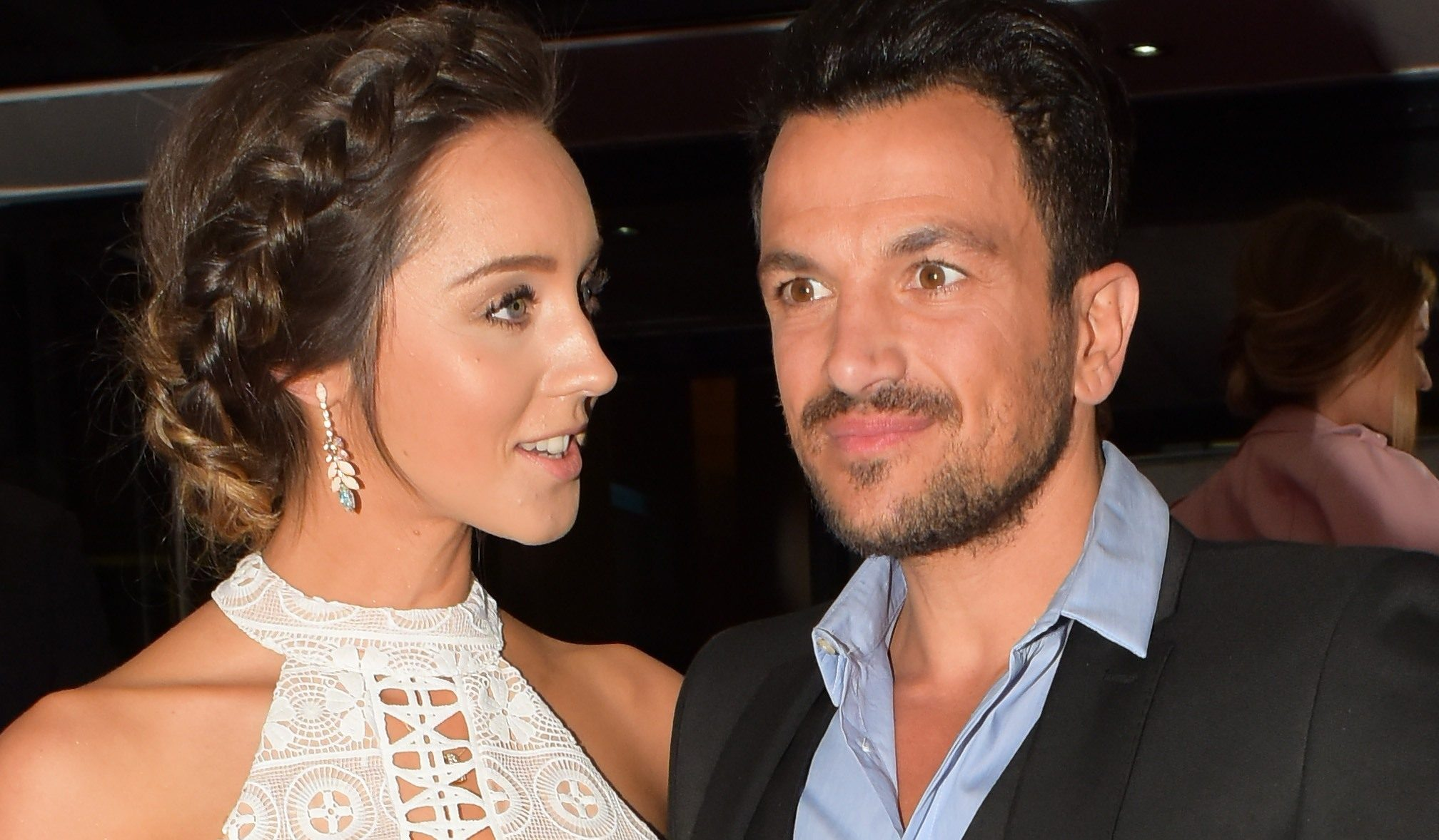 "Peter Andre in the ""doghouse"" with wife Emily after sharing rude photo"