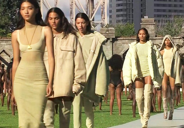 Kanye's Yeezy Season 4 show descends into chaos
