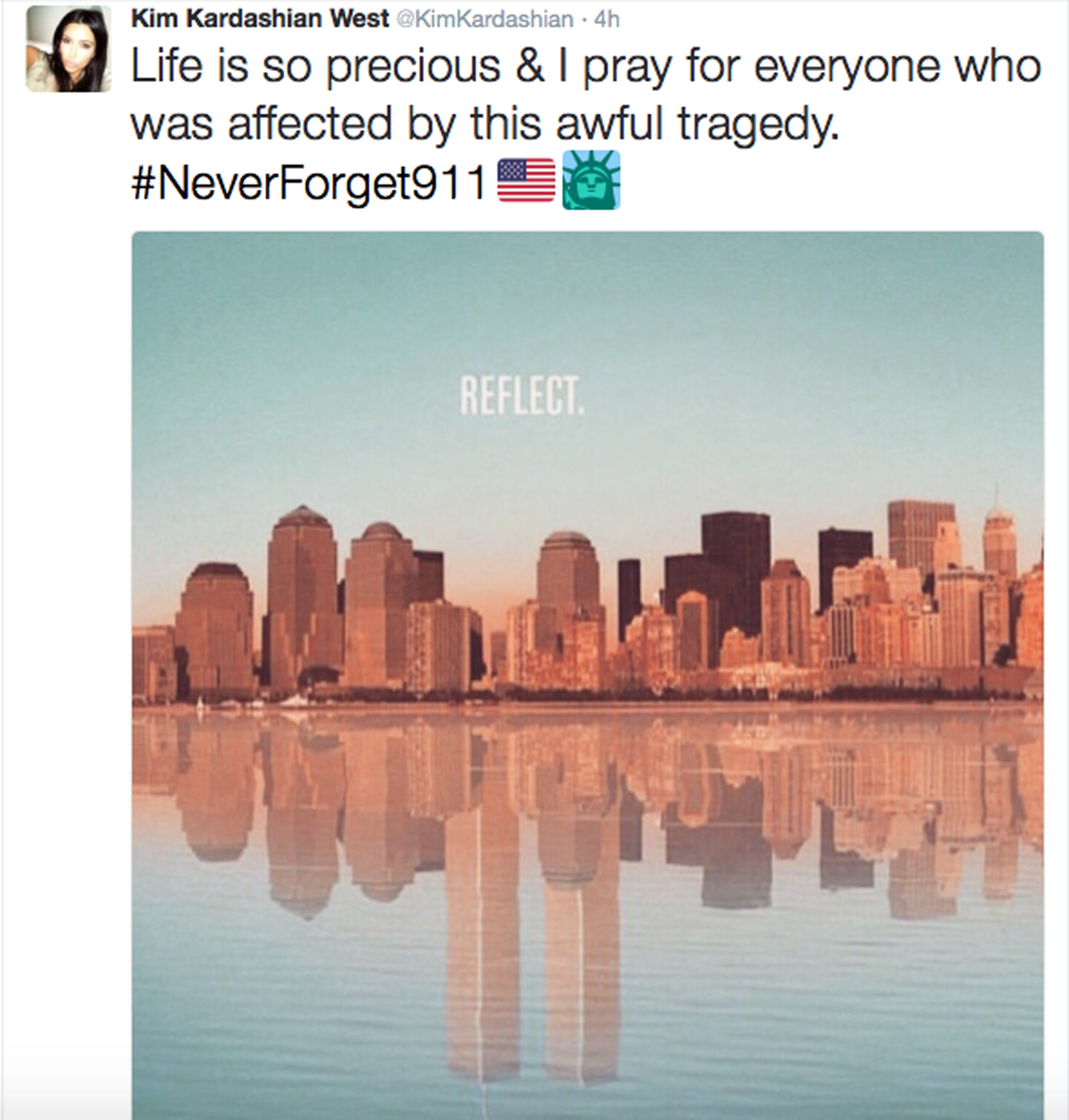'We will never forget': Kim, Lady Gaga and Victoria Beckham lead 9/11 tributes