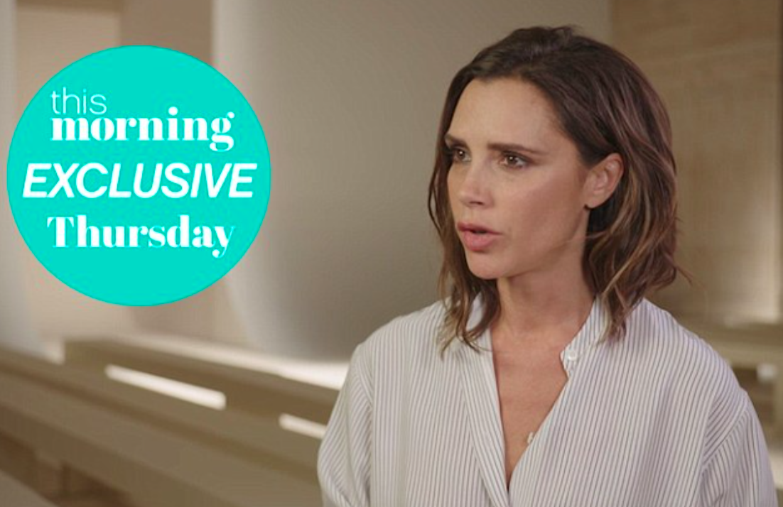 Victoria Beckham reveals beauty secrets and how Harper is a fashionista just like her mum
