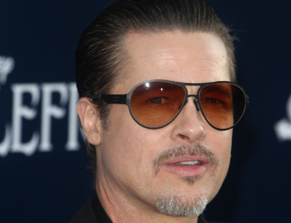 Brad Pitt admits to booze and weed habit and insists Angelina is the 'crazy' one