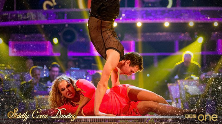 Strictly drama sees Anastacia saved after ripping her mastectomy scar tissue