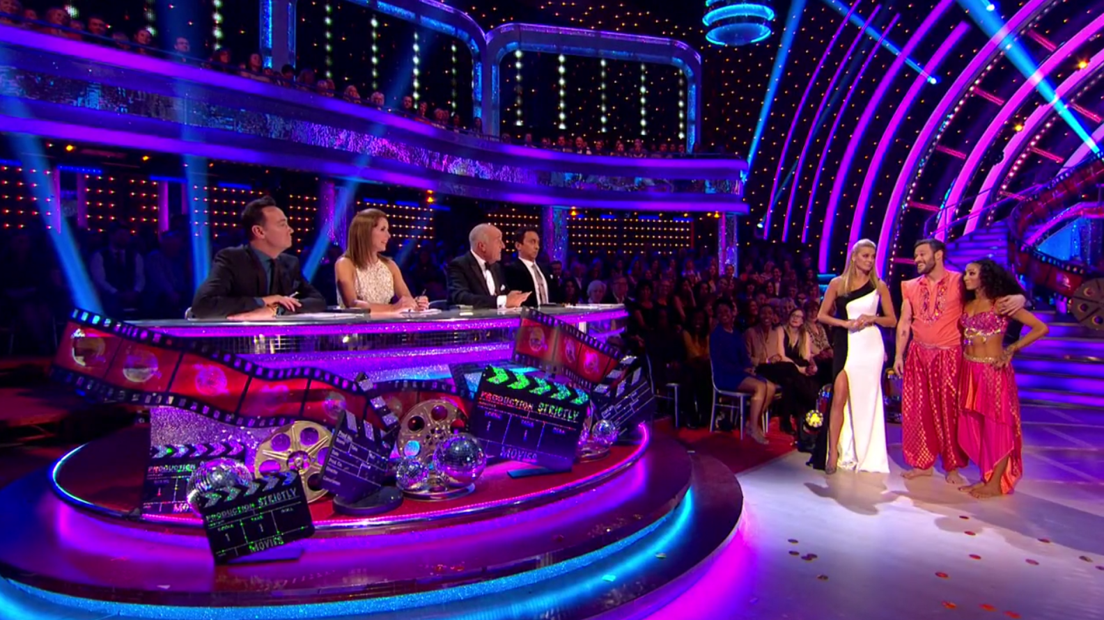 """Strictly: Will Young apologises after Len Goodman tells him """"keep up, shut up"""""""