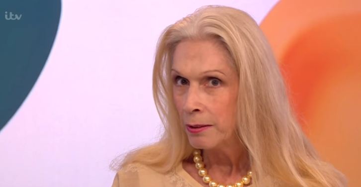 Lady Colin Campbell reveals she almost died after sepsis diagnosis