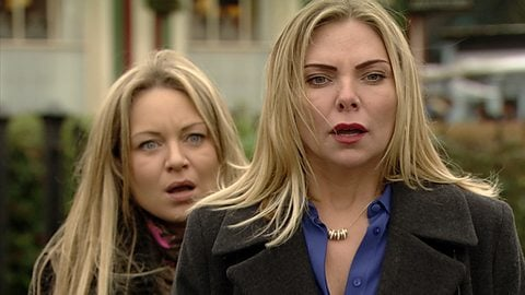 Former EastEnders star Samantha Womack reveals theory that Ronnie and Roxy faked their own death