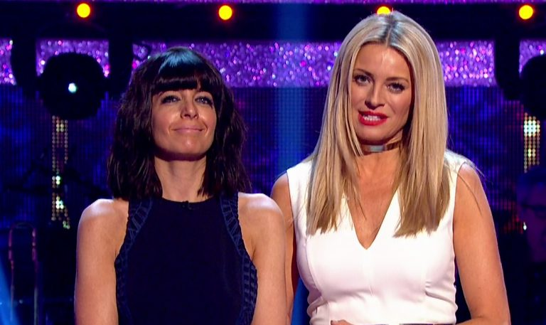 Tess Daly reveals her final words to Bruce Forsyth