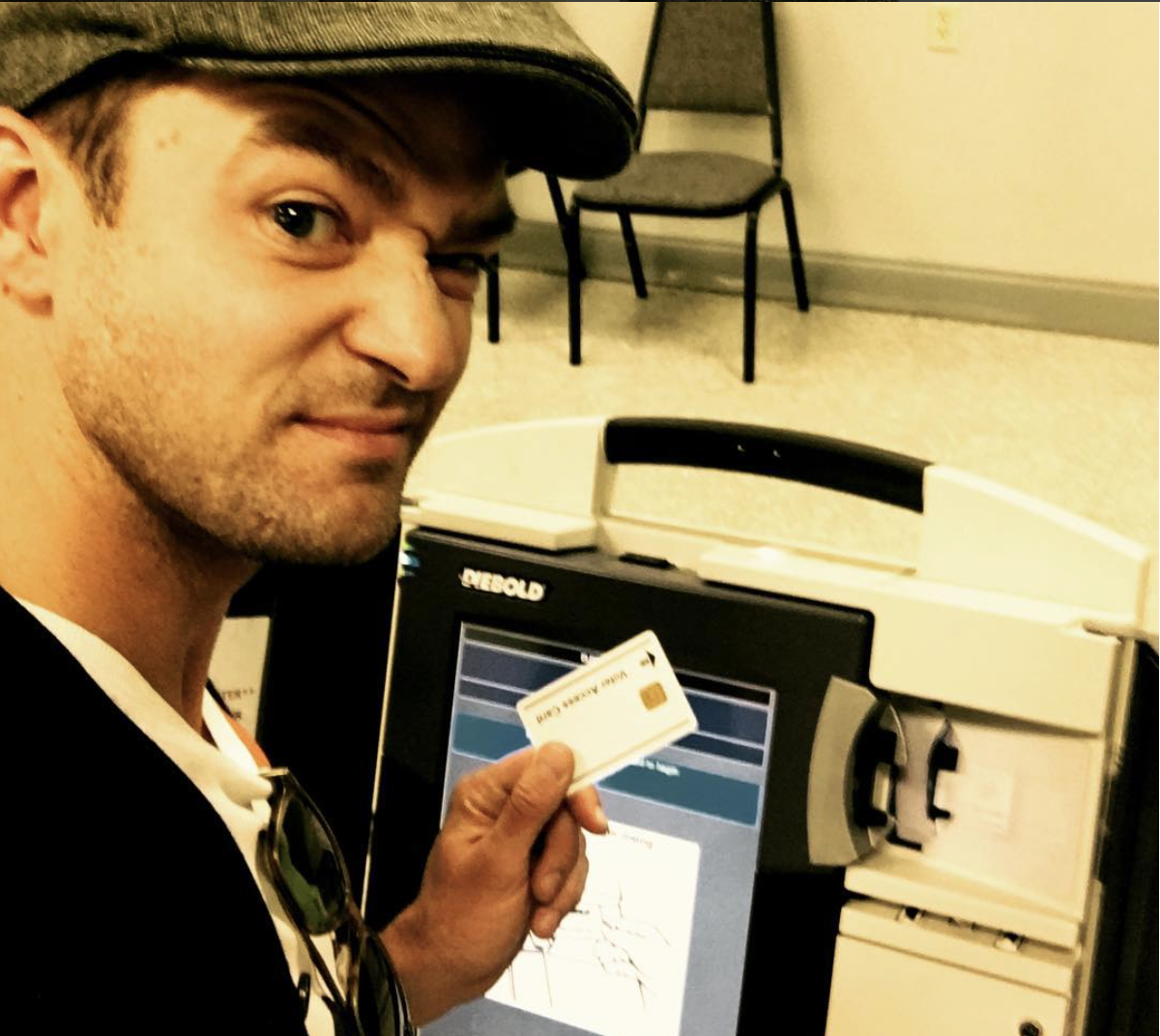 Could Justin Timberlake be JAILED for posting voting selfie?