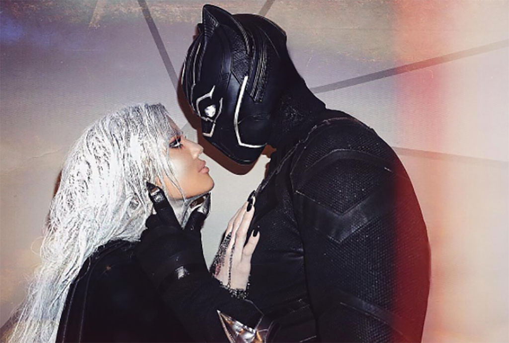 Khloe Kardashian grinds with new beau at PDA-filled Halloween party