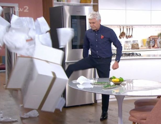 Phillip Schofield DESTROYS This Morning studio in angry rage