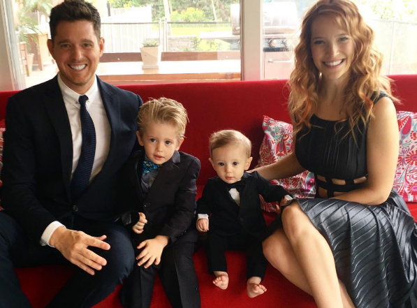 Michael Buble's sister buys cancer-stricken Noah the BEST gift