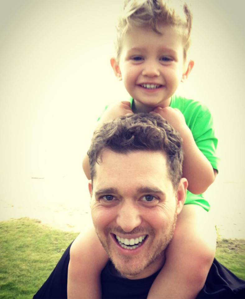 Michael Buble's son undergoing chemo for liver cancer!