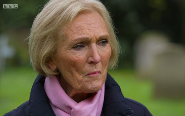 Mary Berry breaks down as she relives the day her son died