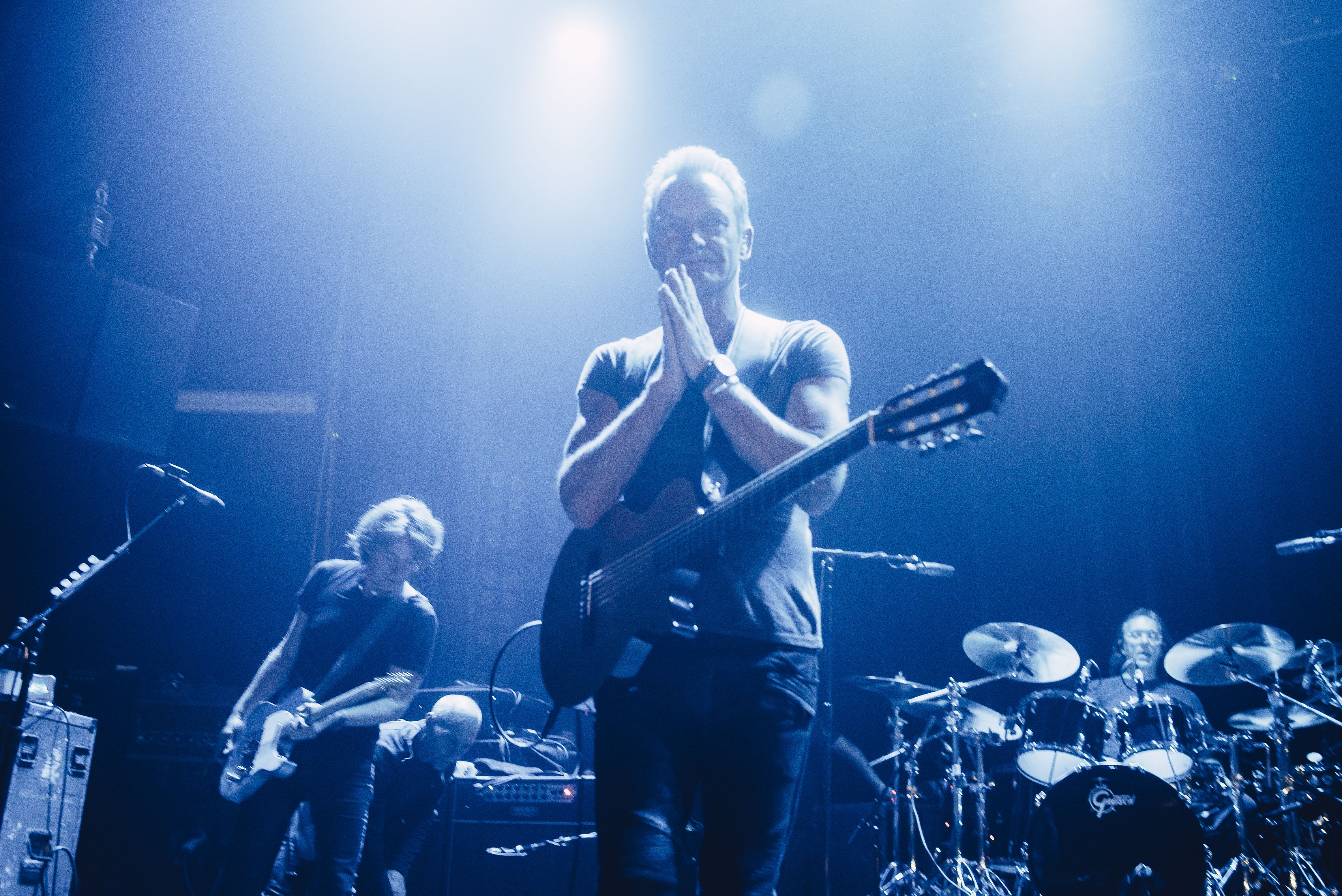 """""""Life go on"""" as Sting reopens Bataclan on Paris Attacks Anniversary"""
