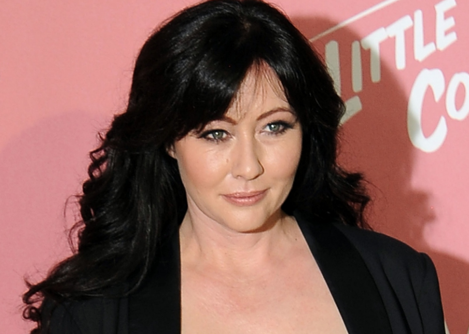Shannen Doherty playing 'waiting game' after chemo finishes