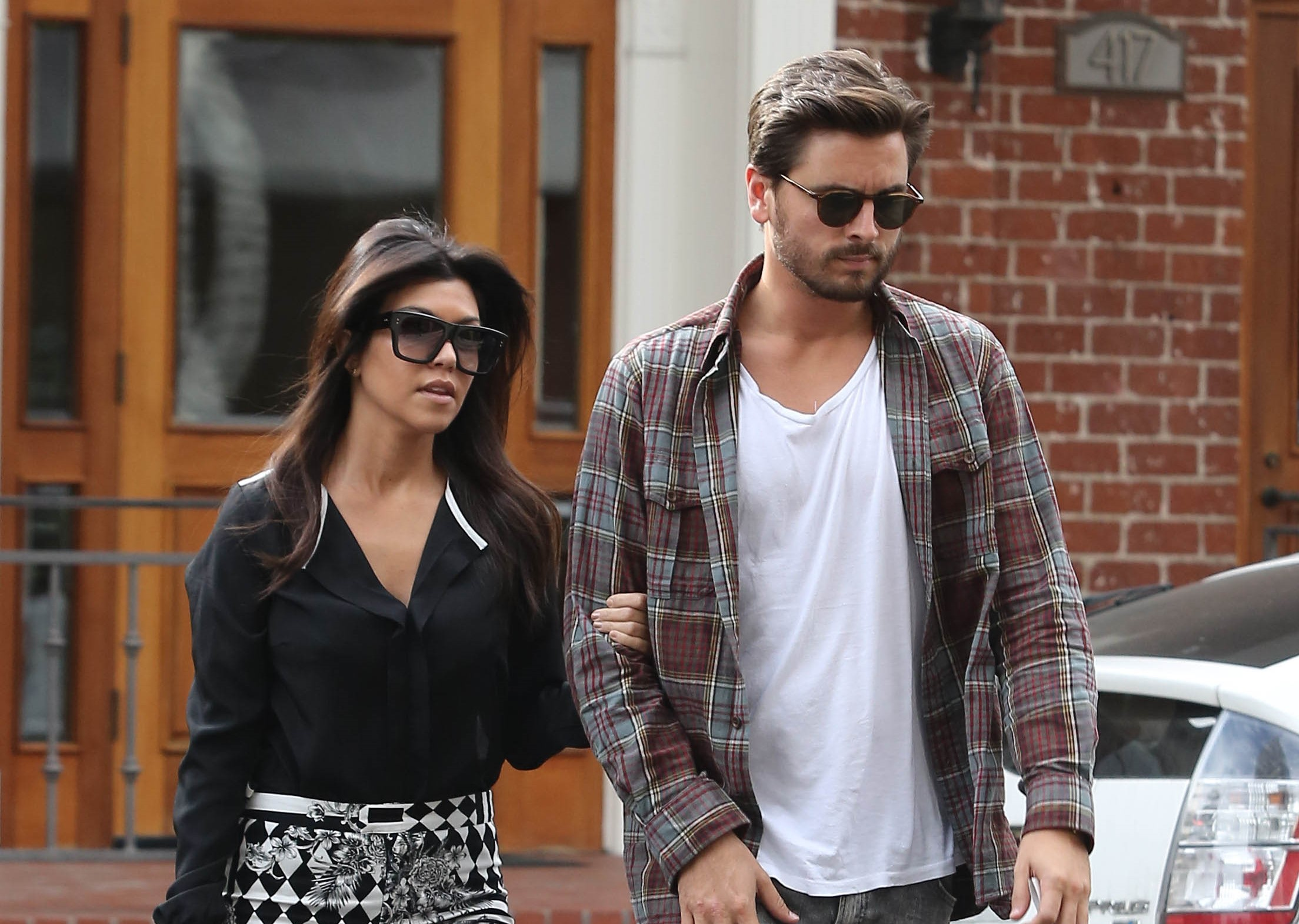 Kourtney Kardashian 'living with Scott and wants ANOTHER baby'
