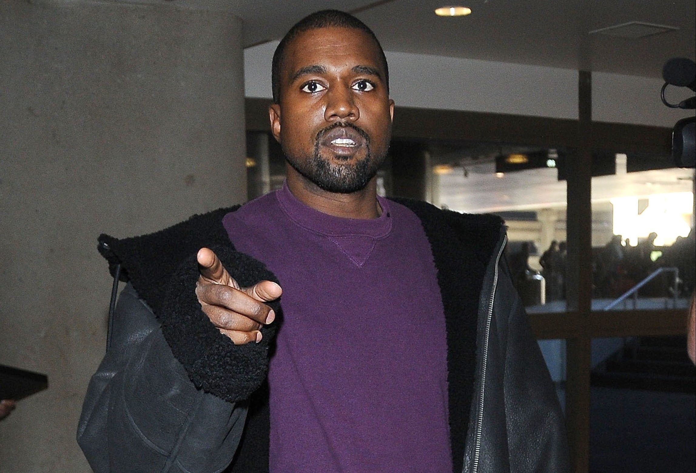 Kanye West's step-brother reveals the rapper 'fears for his life'