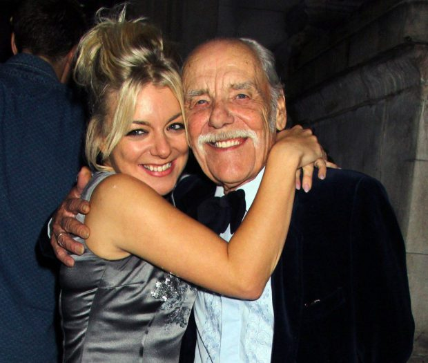 """Sheridan Smith loses her """"much loved"""" father to cancer"""