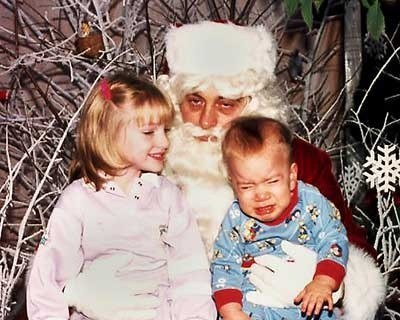 Are these the creepiest Santa photos EVER?