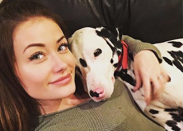 Reality TV star claims she nearly died after pet dog turned gas on