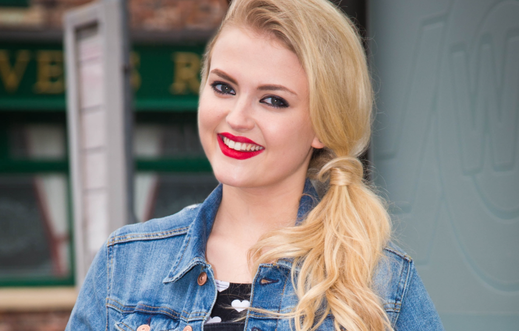 Corrie's Lucy Fallon's baby joy as sister gives birth to a boy