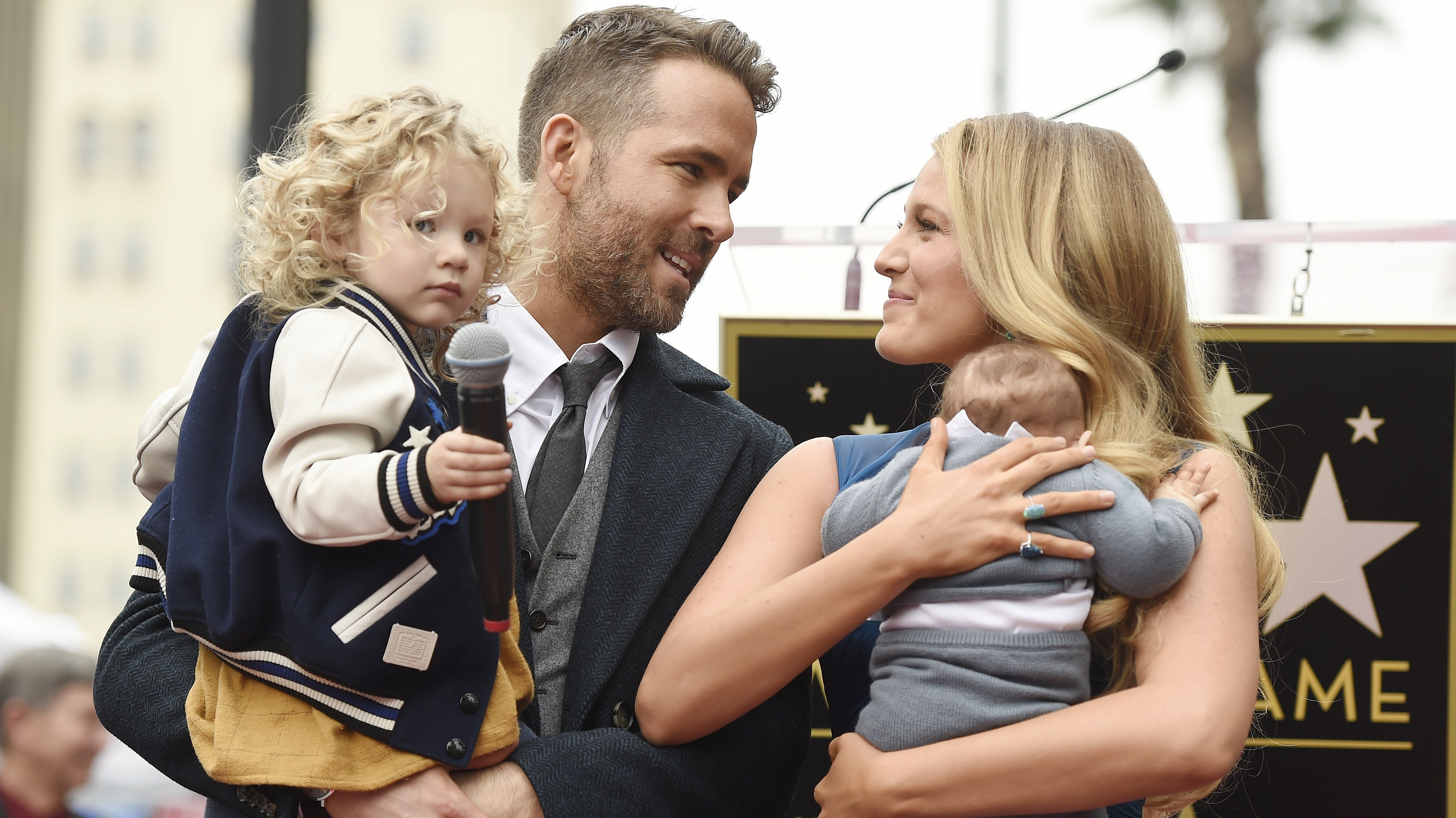 Ryan Reynolds and Blake Lively FINALLY reveal name of second child