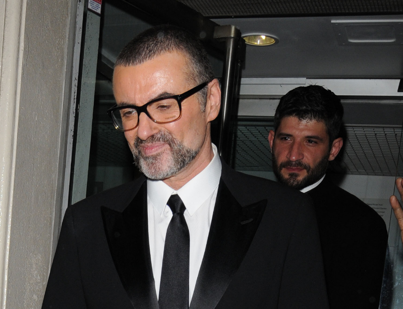 George Michael's lover denies funeral ban with moving tribute pic