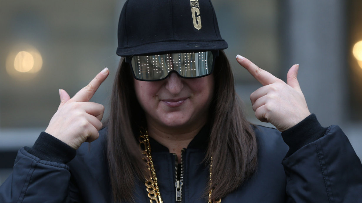 How far do you think Honey G's debut single got in the charts...?