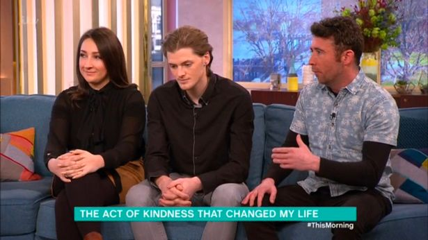 This Morning viewers in tears over homeless man's 'rescue' story