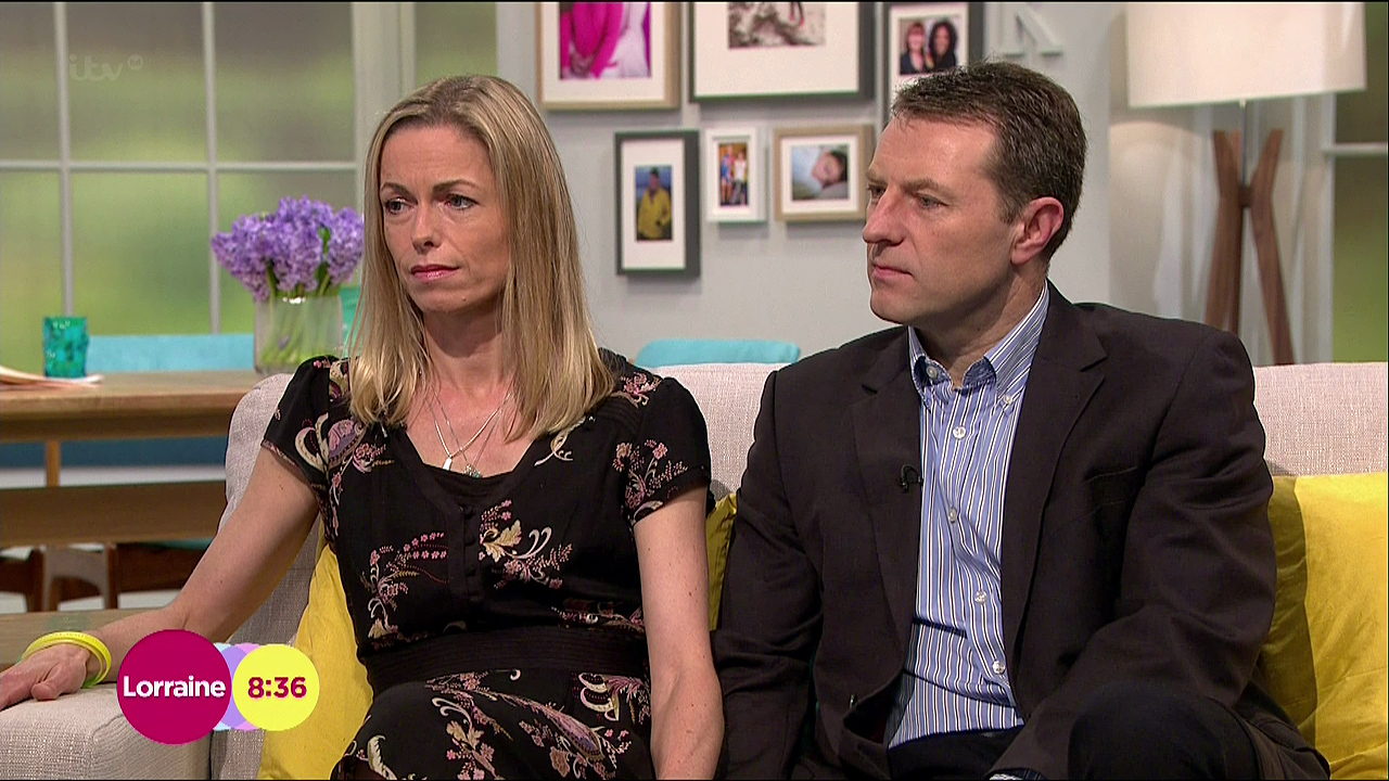 "Madeleine McCann's parents given ""hope"" after Jayme Closs case"