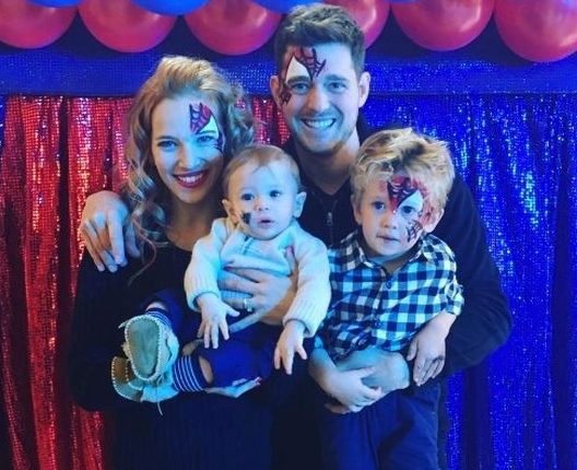 Finally! Some good news for Michael Bublé and his family