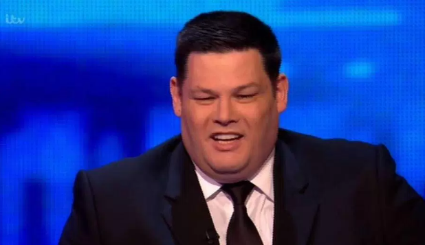 Why did The Beast punch a table on The Chase?