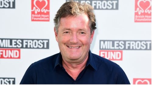Piers Morgan delights fans with photo of the GMB Christmas party