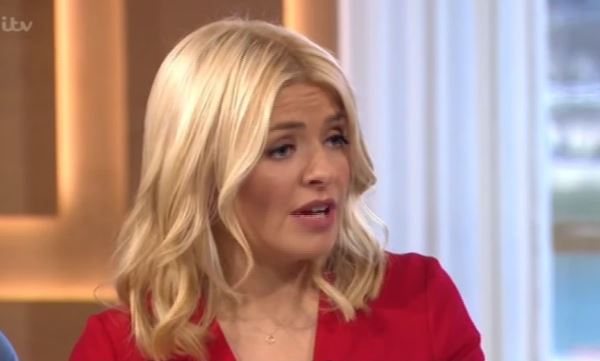 Holly Willoughby apologises for Joey Essex outburst on live TV