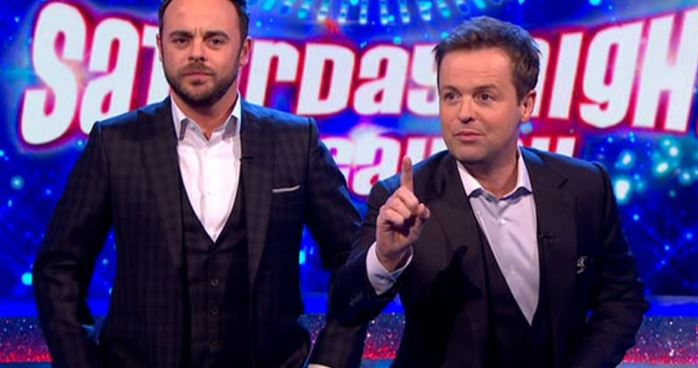 Ant and Dec apologise after viewer's live outburst on Takeaway
