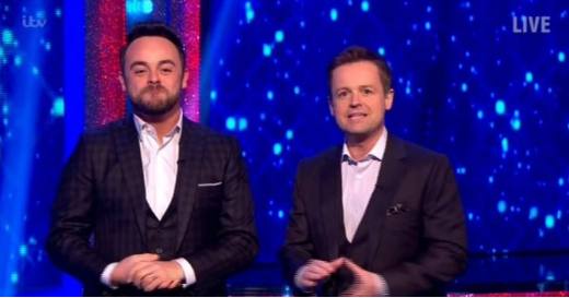 Will Dec be going it alone while Ant is in rehab?