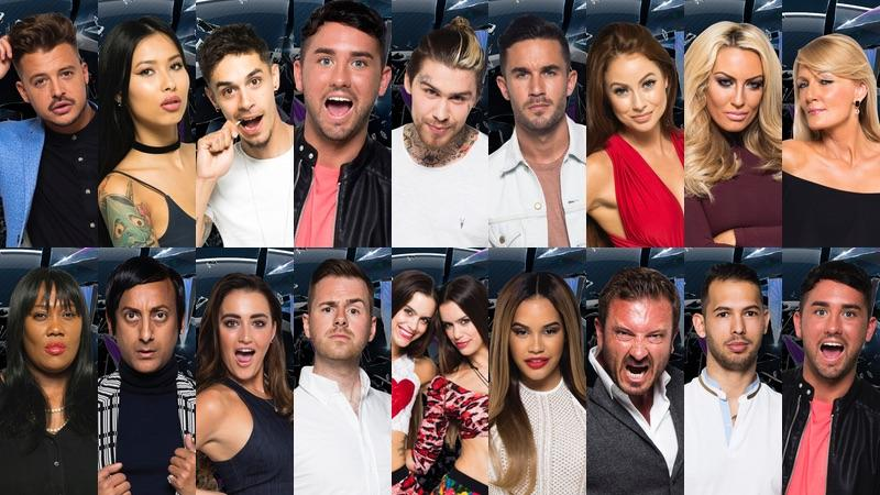 Celebrity big brother uk  contestants