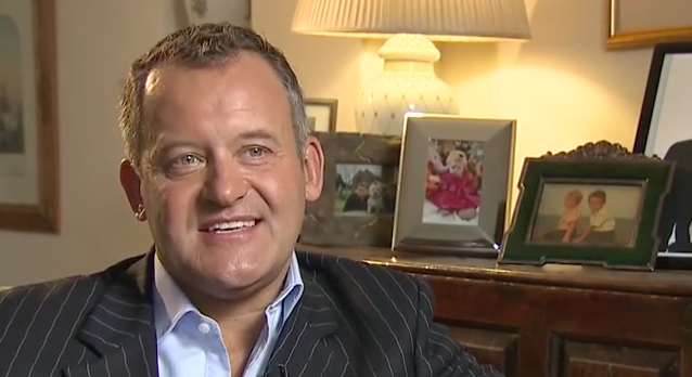 Paul Burrell comes out in the BEST way