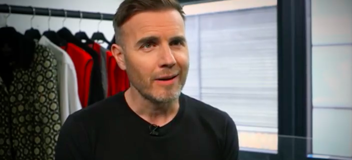 Gary Barlow slams rumours that Five To Five are backing singers