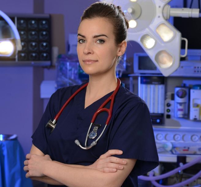 Holby City star Camilla Arfwedson to reprise role of Zosia March