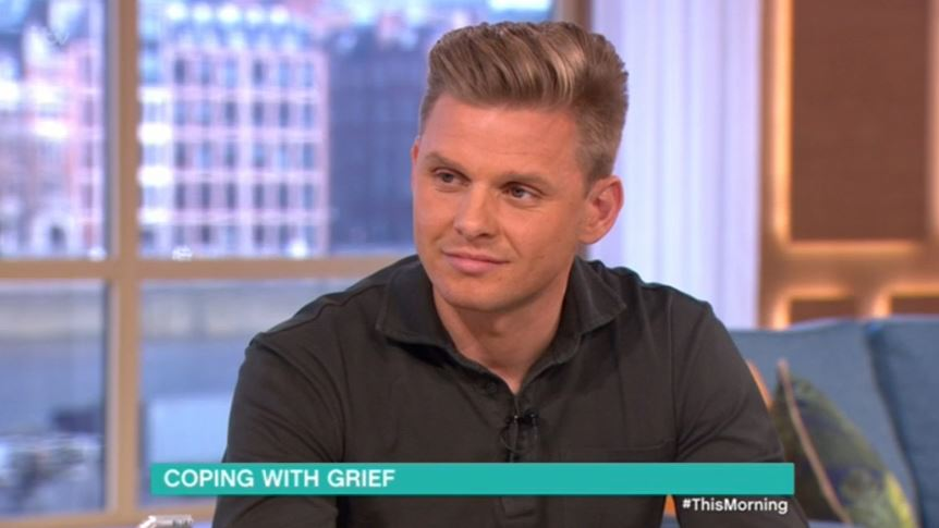 Jeff Brazier moves viewers to tears on This Morning