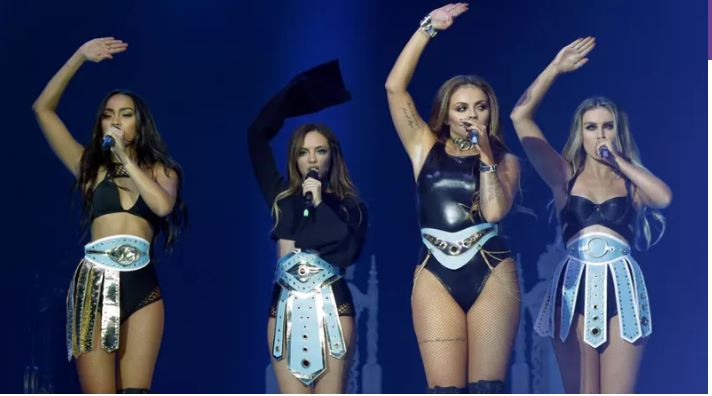 Little Mix star performs in thick bandages following burns injury