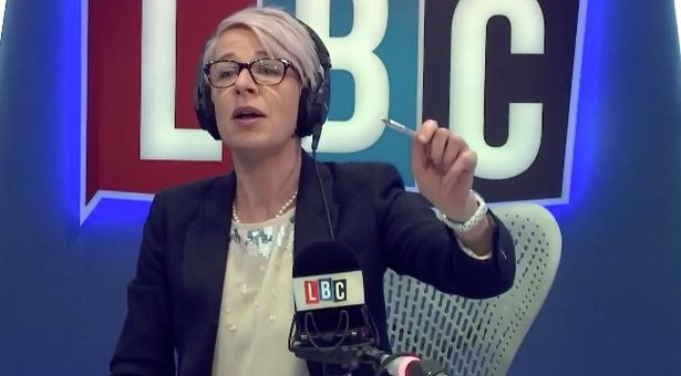 Katie Hopkins' radio show invaded live on air - by Russell Brand!