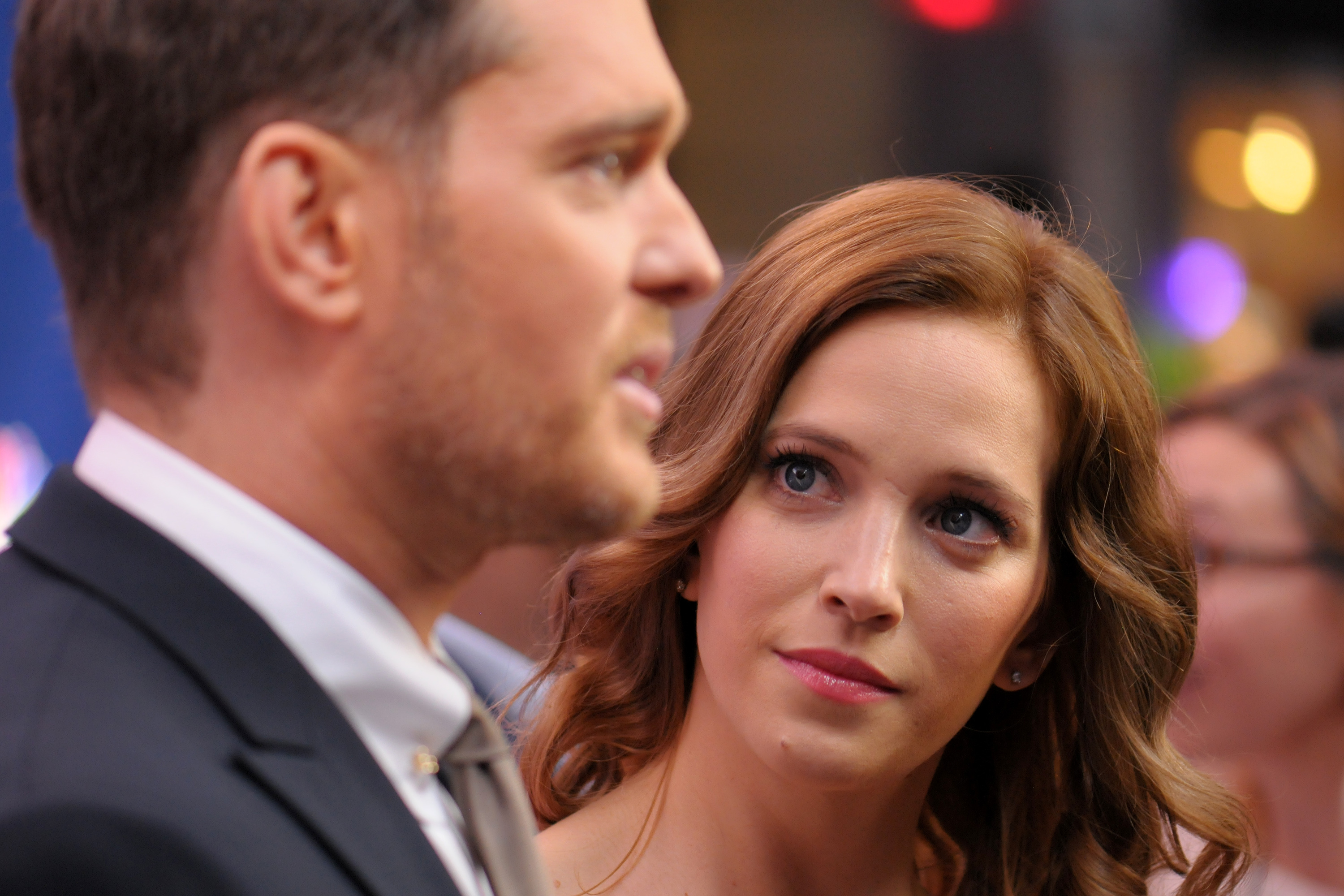 Michael Bublé's wife breaks silence after son's cancer treatment