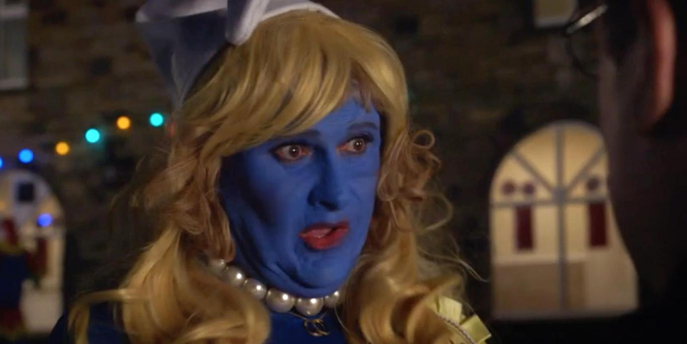 Car Share viewers shocked to discover the identity of female Smurf!
