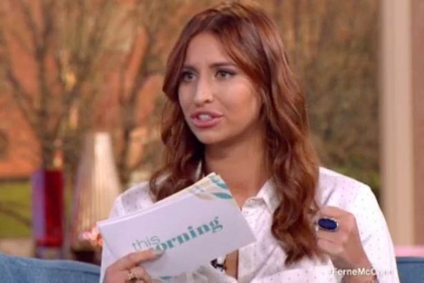 Ferne McCann would love This Morning return
