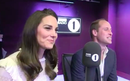 Big Brother star shocked by surprise visit from William and Kate