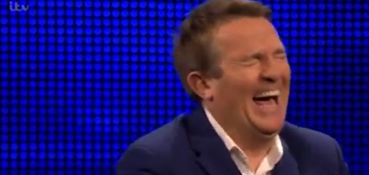 Bradley Walsh left with egg on his face after mocking contestant