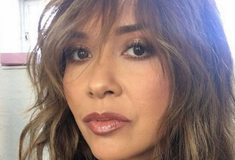 Klassy! Myleene posts X-rated picture of herself - then deletes it
